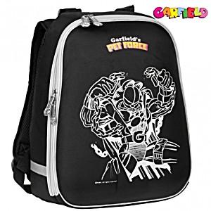 Рюкзак школьный Garfild (Гарфильд) черный 1008-GF-02